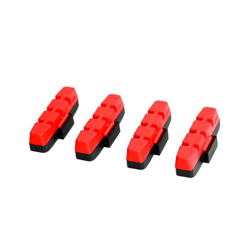 Brake blocks for all uncoated rim surfaces for HS brake