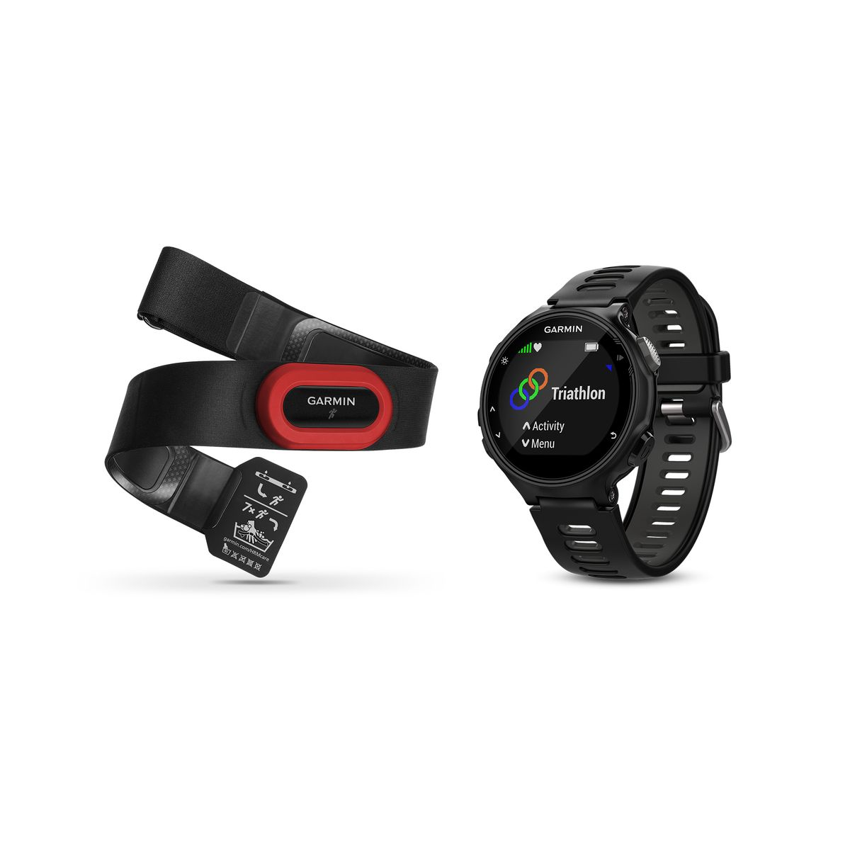 Forerunner 735XT GPS running watch bundle