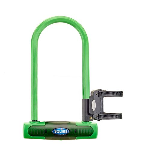 Eiger Green U-Lock with Key