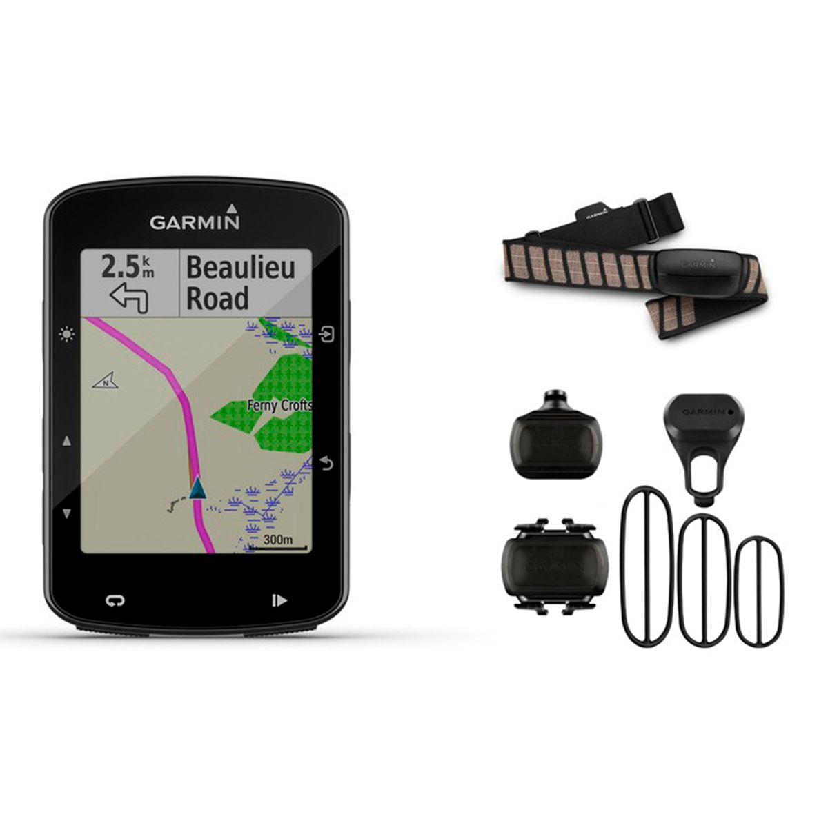 Edge 520 Plus GPS bike computer Performance Bundle