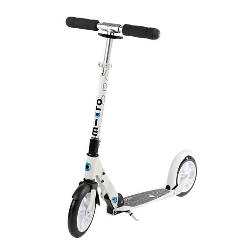 Scooter White/Black with Folding Mechanism
