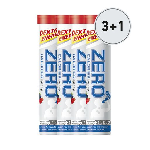 Zero Calories effervescent tablets 3+1 free