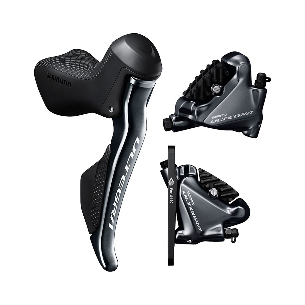 Di2 ST-R8070 brake/shift lever combination + BR-R8070 hydraulic disc brake