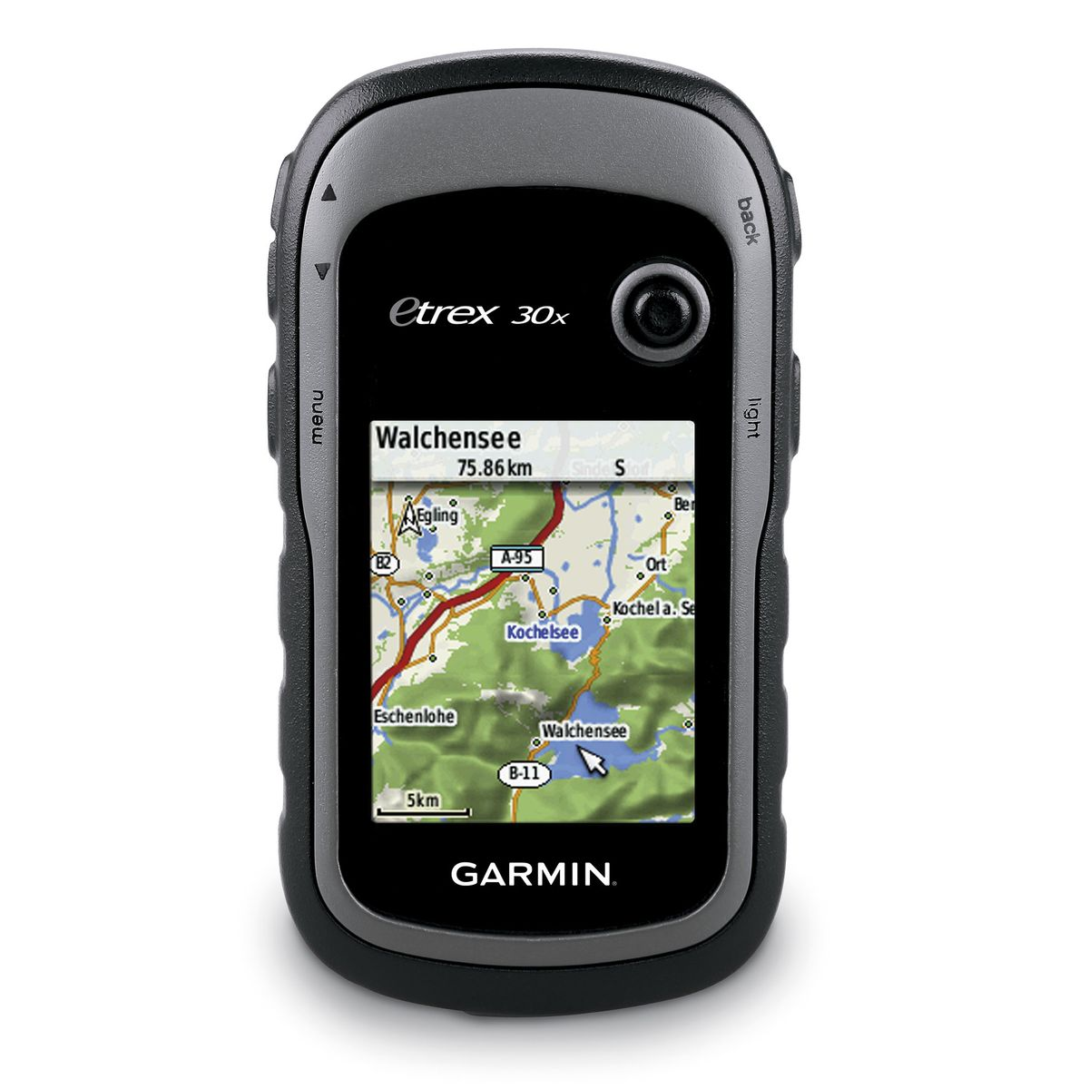 eTrex 30x GPS navigation device incl. TopoActive map of Western Europe