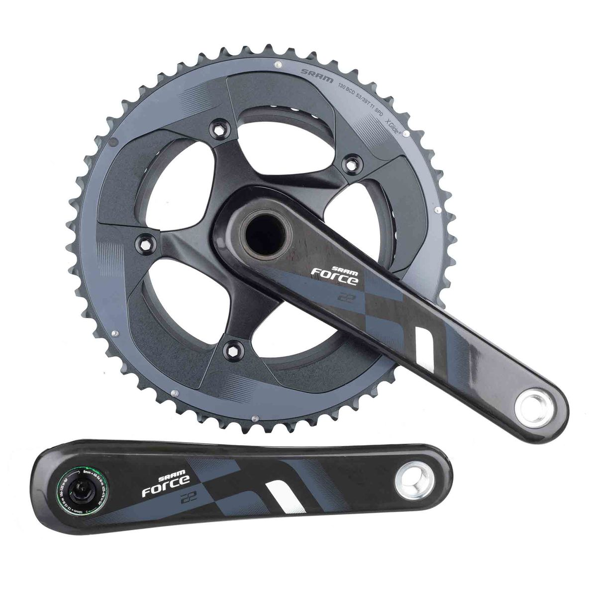Force 22 crankset