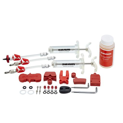 Professional bleed kit incl. brake fluid