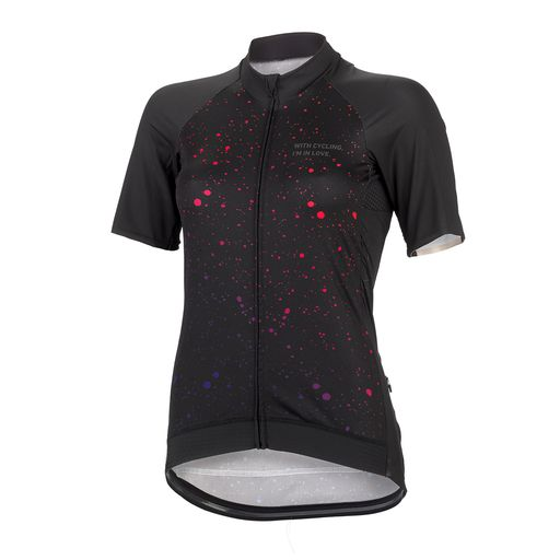 HIGH END FLUO SPOTS women's jersey