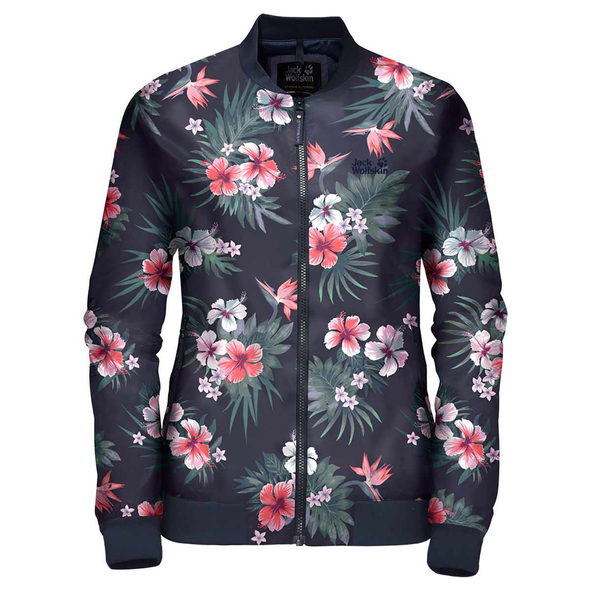TROPICAL BLOUSON W women's fleece jacket