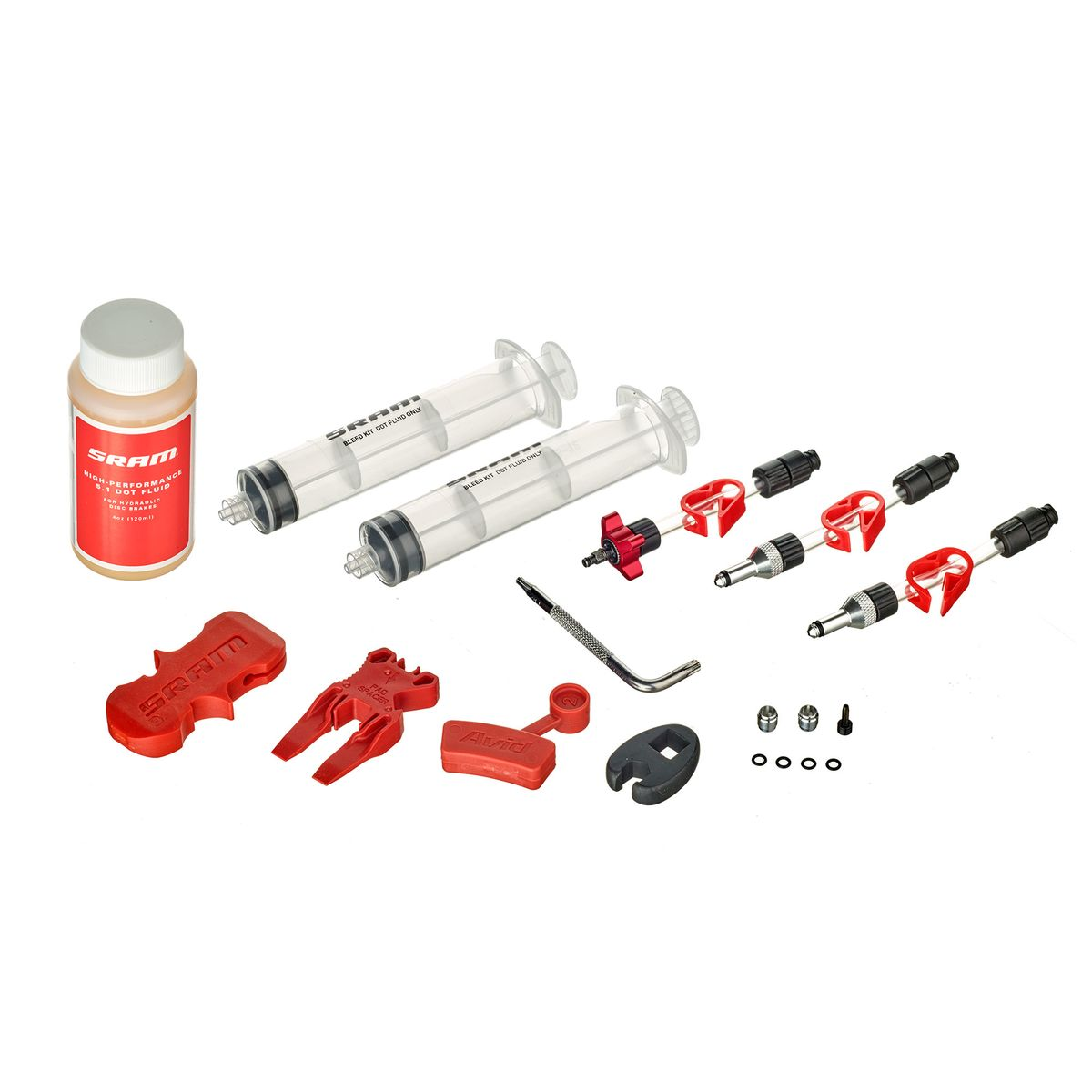 Sram Standard bleeding kit (incl. Dot 5.1 braking fluid)