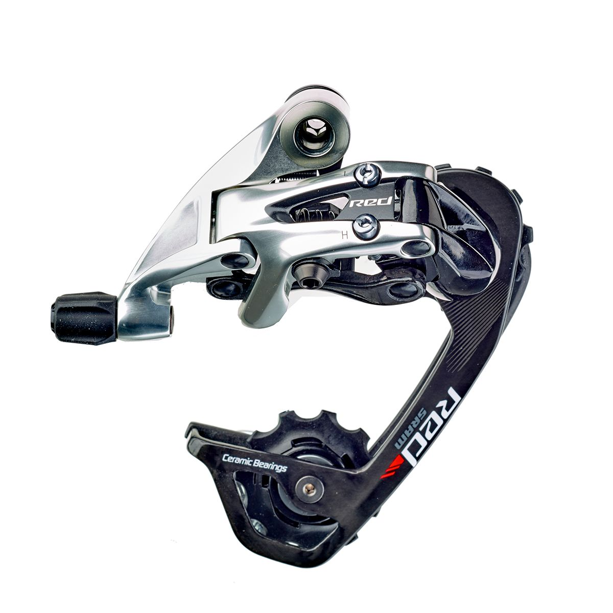 Red 22 rear derailleur