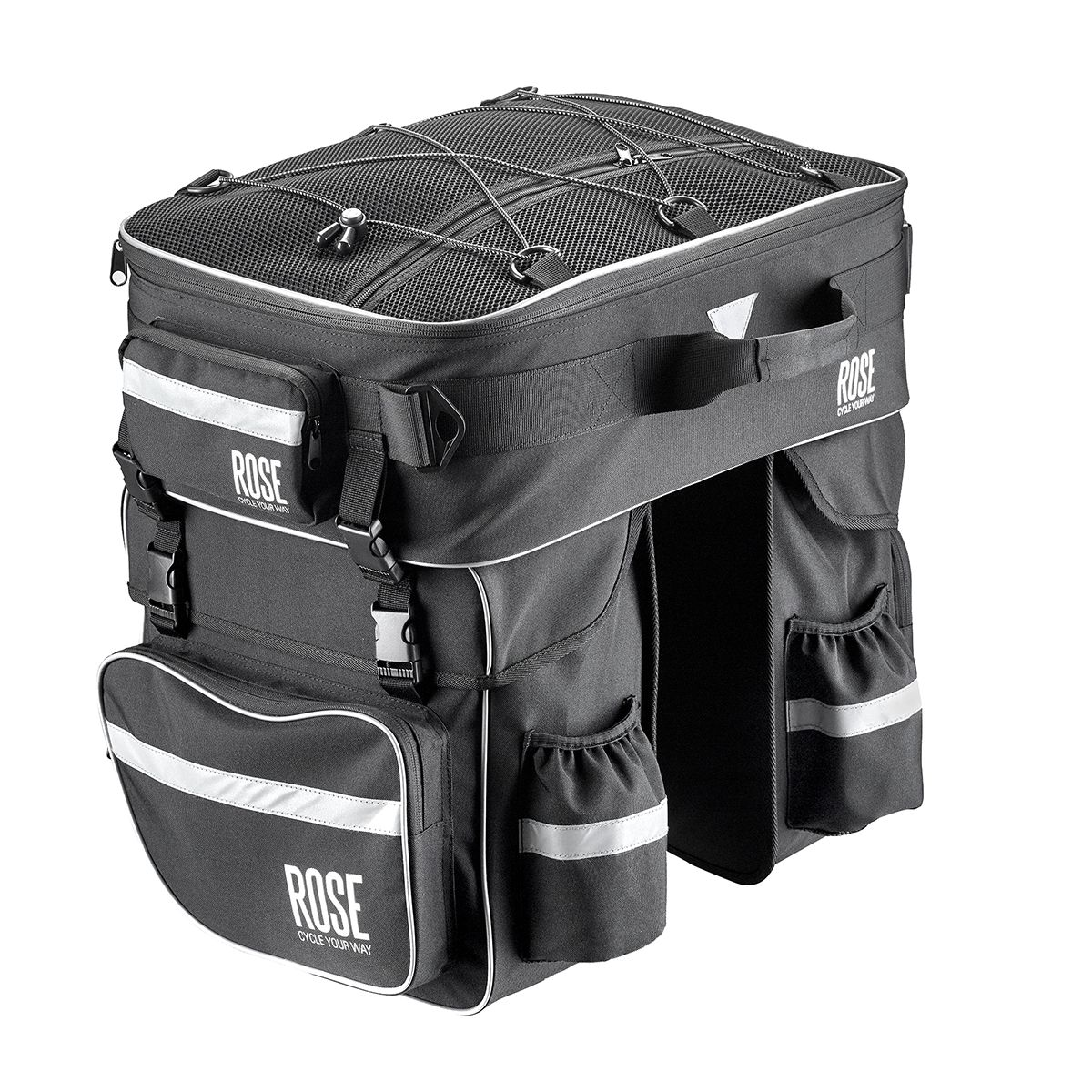 - The touring companion - bicycle pannier set (set of 3)