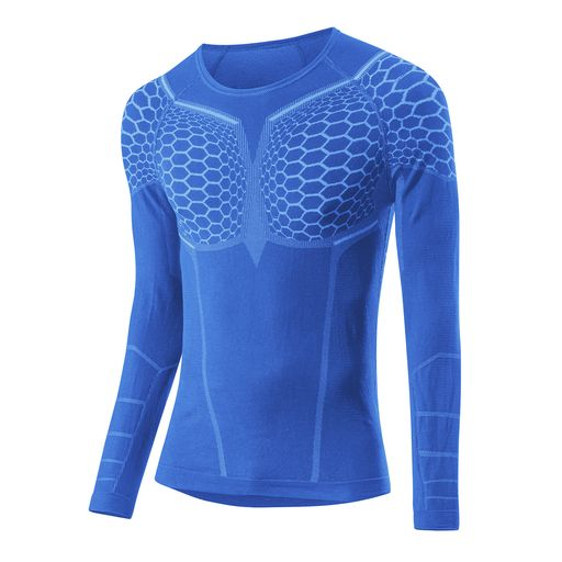 TRANSTEX WARM HYBRID LA long-sleeved base layer
