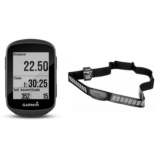 Edge 130 GPS bike computer heart rate bundle