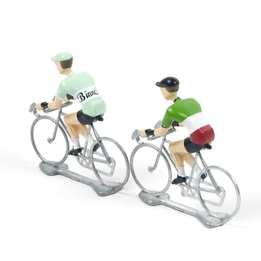 miniature road cyclist