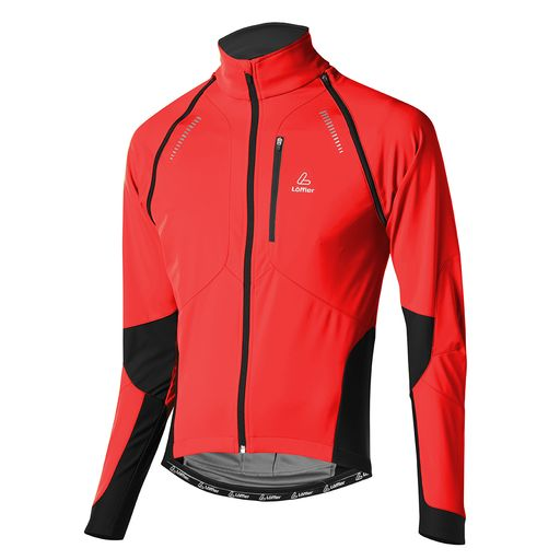 Men's BIKE ZIP-OFF JACKET SAN REMO WS SOFTSHELL LIGHT