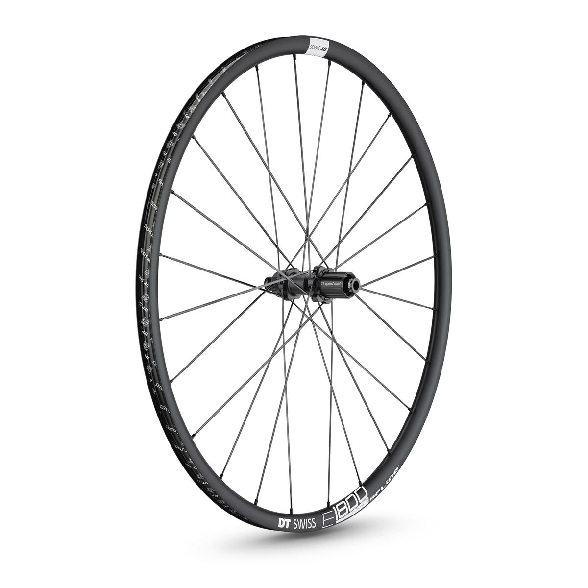 E 1800 Spline 23 db road rear wheel 28