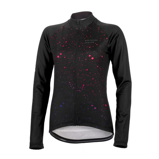 FLUO SPOTS THERMO women's long sleeve jersey