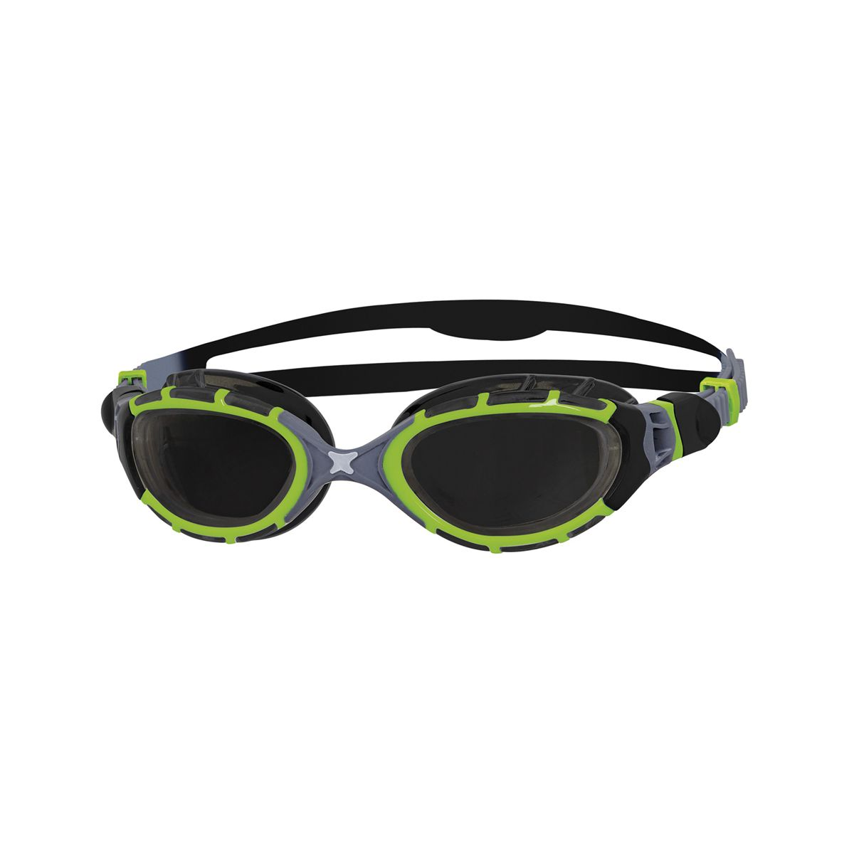 Predator Flex Titanium Reactor Swimming Goggles Self-Tinting