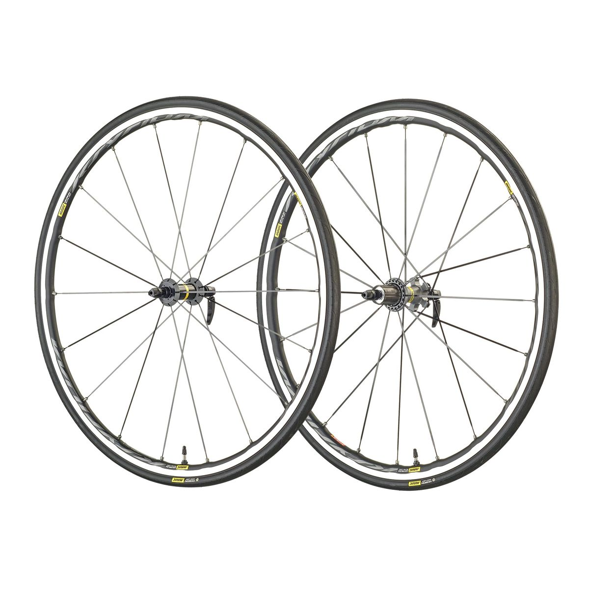"Ksyrium Elite UST WTS 28""/700 C road wheels"