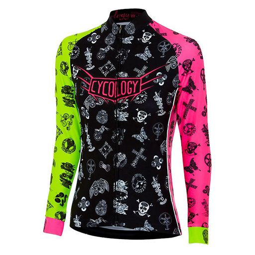 VELOSOPHY WOMEN'S LONG SLEEVE JERSEY