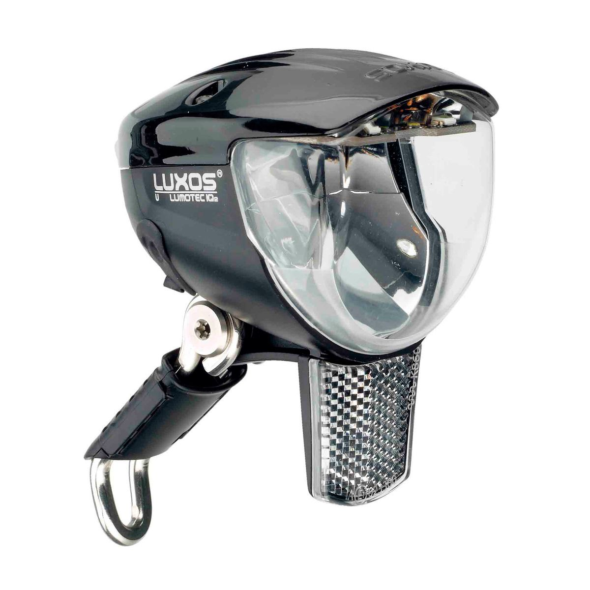 Lumotec IQ2 Luxos U senso plus headlight with USB connection