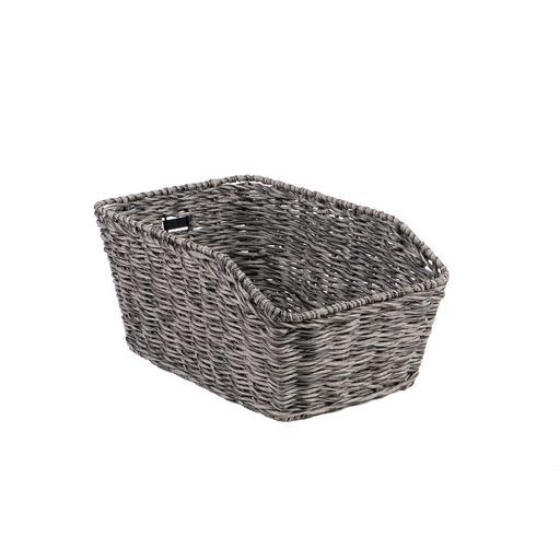 MORINO rear bicycle basket for permanent installation
