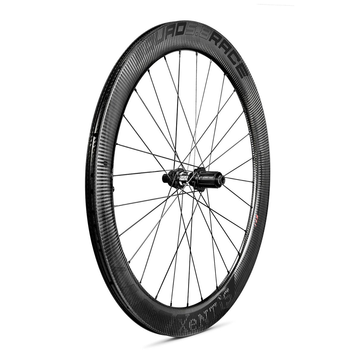 "SQUAD 5.8 RACE Disc Carbon Rear Wheel 28""/700C Clincher – Disc Brake"