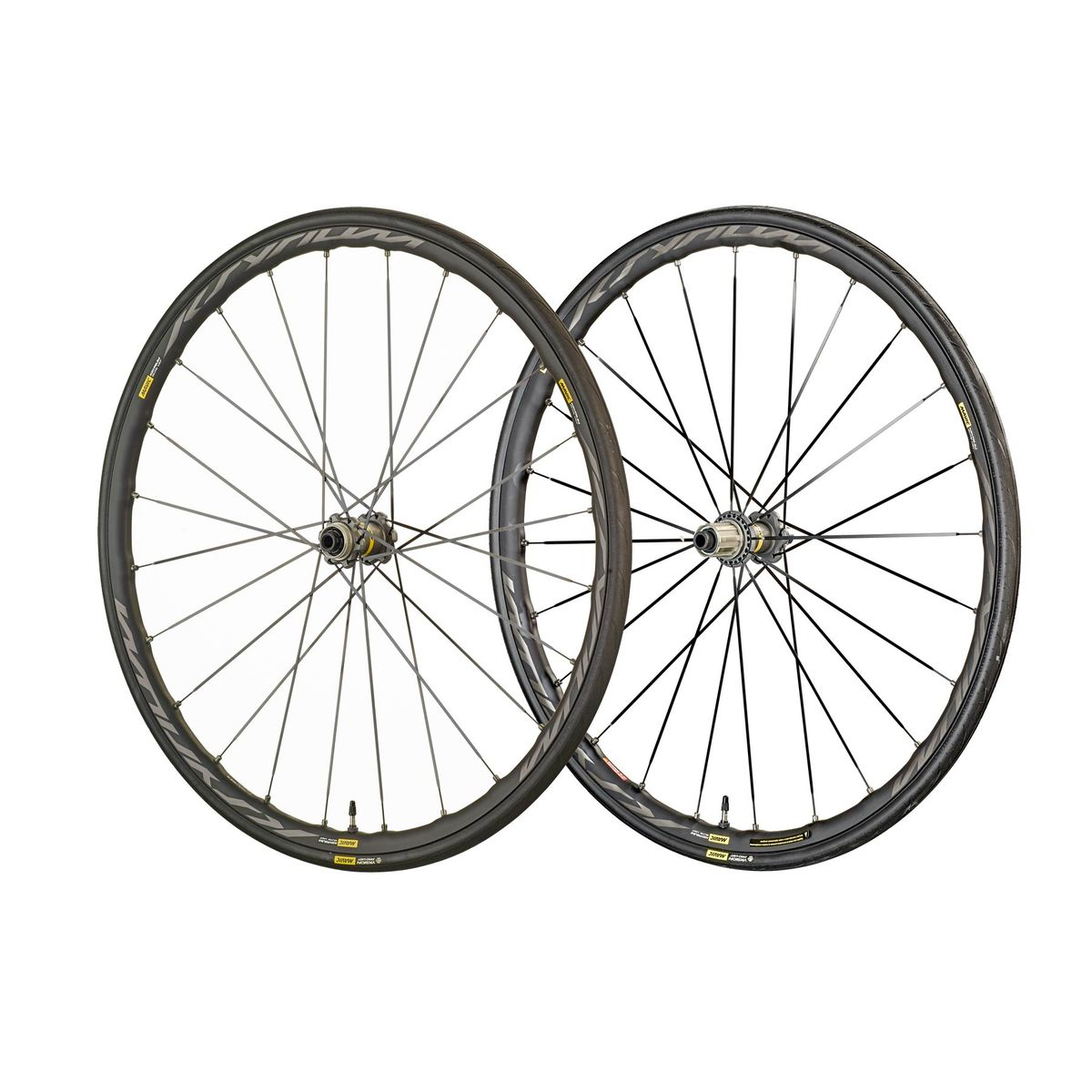 "Ksyrium Elite UST Disc Centerlock WTS 28""/700 C road wheels"