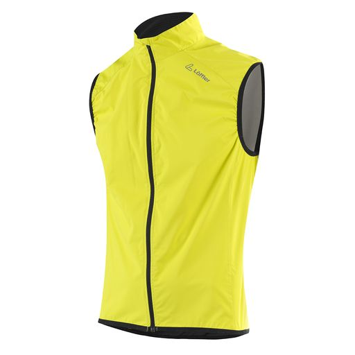 BIKE VEST WS ACTIVE softshell vest for men
