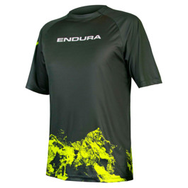 SINGLETRACK PRINT T-SHIRT MOUNTAINS