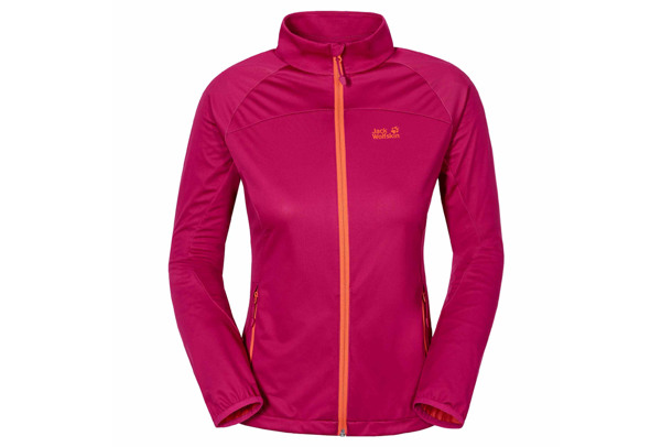 CROSSWIND women's softshell jacket