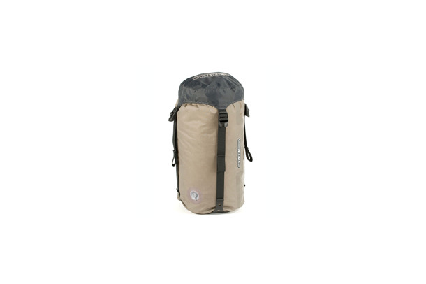 compression dry bag with valve and belt